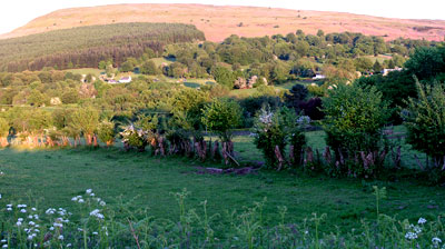 The Blorenge behind Govilon